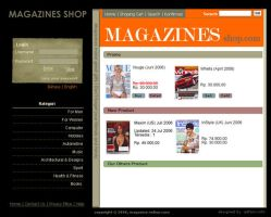 Magazines Web Template by Artfans