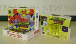 Megaman Crisis Packaging by Whatsome