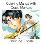 Youtube Coloring Tutorial by Mireielle