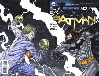 Batman VS Joker by Keatopia