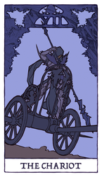 Tarot - The Chariot (WIP) by Jacinthe