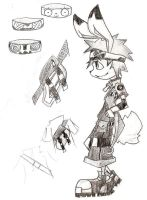 Rudy and accessories by cjcat2266