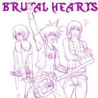 Brutal Hearts - WIP by Song64