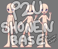 P2U Shonen Base 3 pack by Kariosa-Adopts