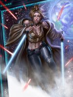 Jedi Knight by SaraForlenza