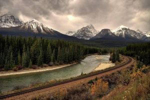 Canadian-Pacific Railway by mole2k