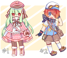 [CLOSED] SB $1 AUCTION - Sketch Adoptables by Shika-Adopts