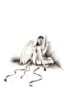 Lonely Angel by Sympathy-4-Devil