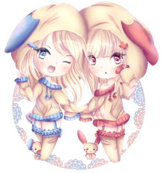 Double the trouble by Milavana