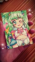 ACEO Card Magical Girl by Kertii