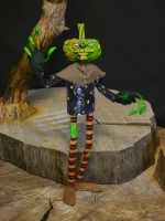 Gourd Lord- Neb, brother to Zeb and Blodden Qwick2 by Boggleboy