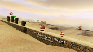 [MMD] Mario Desert World Stage DL by MrWhitefolks