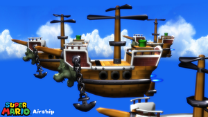 (MMD Stage) Airship Download by SAB64