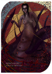 The Mother Tarot Card - Queen of Pentacles by PinPinax