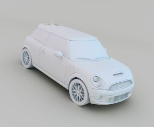 Mini John Cooper Works by dzine23d