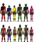 Power Rangers Ancient Age: Olympian Mode. Updated! by Eddmspy