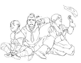 I ALSO GOT INTO ATLA by Cabout