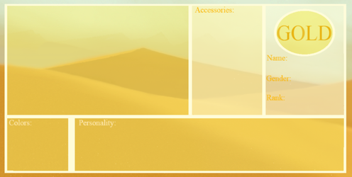 Gold-Comic Application Template by Tazzy-girl