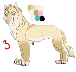 Wolf Auction #3 Adopt: MissAsiah by IzzyShea