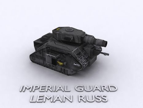 Leman Russ by Wolf-in-Exile