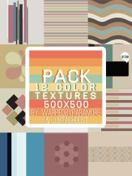 12 color textures by justaghoost