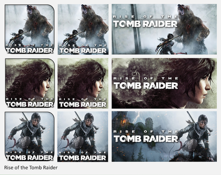 Rise of the Tomb Raider by griddark