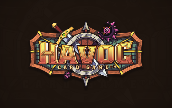 Havoc card game - logotype by th3cleaner