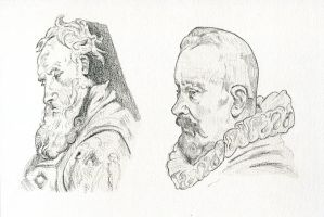 2016 05-19 Peter Paul Rubens Studies by meatfortress