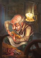 The Elves and the Shoemaker 2014 1 by RosieVangelova