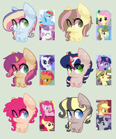 MLP Crack Ship (OTA) Adoptables #5 CLOSED by Nyan-Adopts-2000