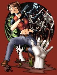 Resident Evil Code: Veronica X by Jelli76