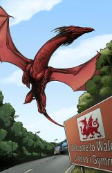 Welcome to Wales by thatrogersguy