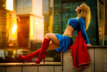 SUPERGIRL by CaptainIrachka