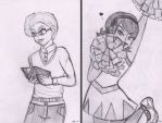 The Scholar and the Cheerleader by Gabby413