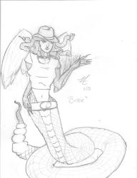 Bonnie the Cowgirl Gorgon by SheWhoShines