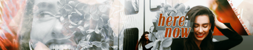 Here and Now Banner by divergensea