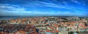 Lisbon from the Castle by roman-gp