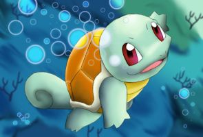Squirtle's Swim by Midnight-Dark-Angel