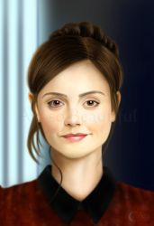 Clara from Journey to the centre of the Tardis by jht888