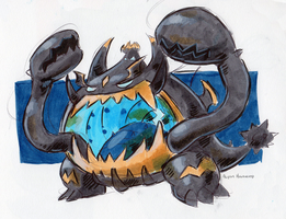 #799 Guzzlord by little-ampharos
