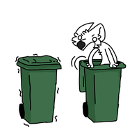 Furry Trash by Foldable