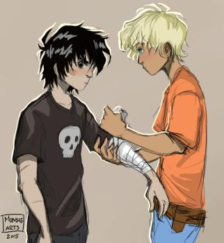 Solangelo by MonsieArts