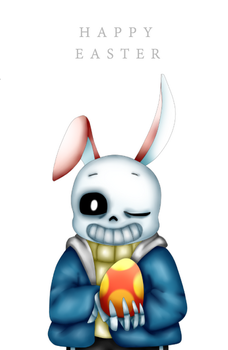 Easter Bunny Baby by MonsterMena