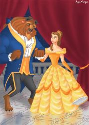 Belle and the Beast by AgiVega