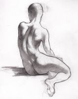 seated constructed figure by tviolaceus