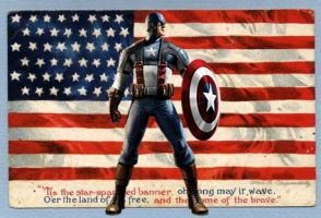 cap and the flag by antihero74