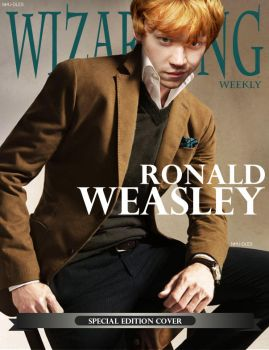 Wizarding Weekly (Special Edition) : Ron Weasley by nhu-dles