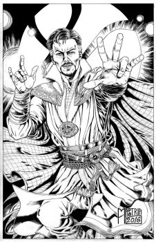 Dr.strange Inks by AntonioMastria