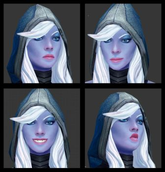 Drow Ranger from Dota 2 (re-textured) by NatashaKashkina