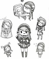 MP3 Doodles by Tamochi-Chan